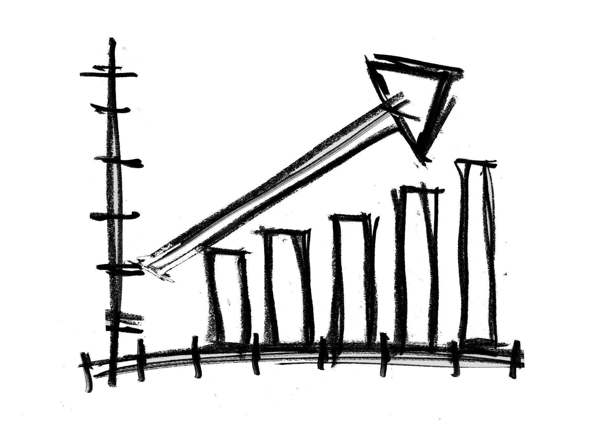 gráfico negocio ventas