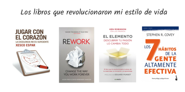 los libros que revolucionaron mi estilo de vida