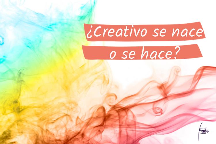post creativo se nace o se hace