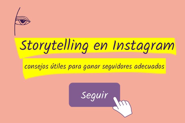 Storytelling en Instagram