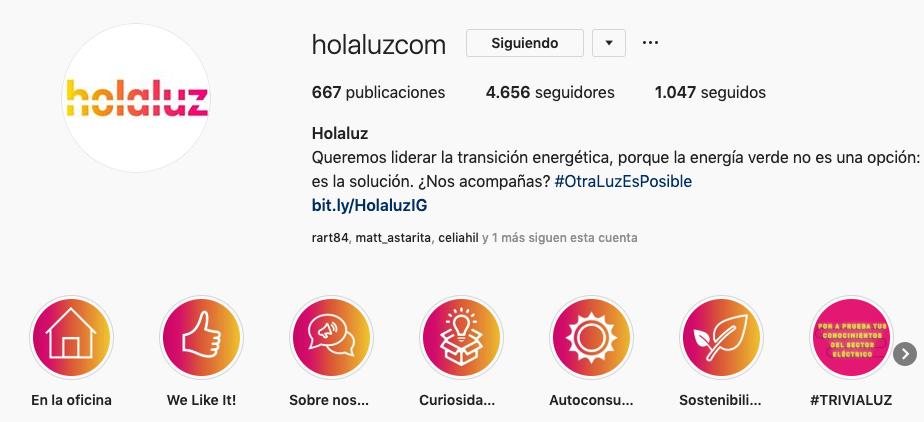 instagram de holaluz
