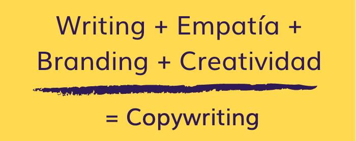 copywriting es writing, empatía, branding y creatividad