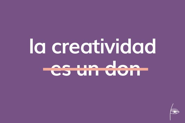 a ser creativo se aprende