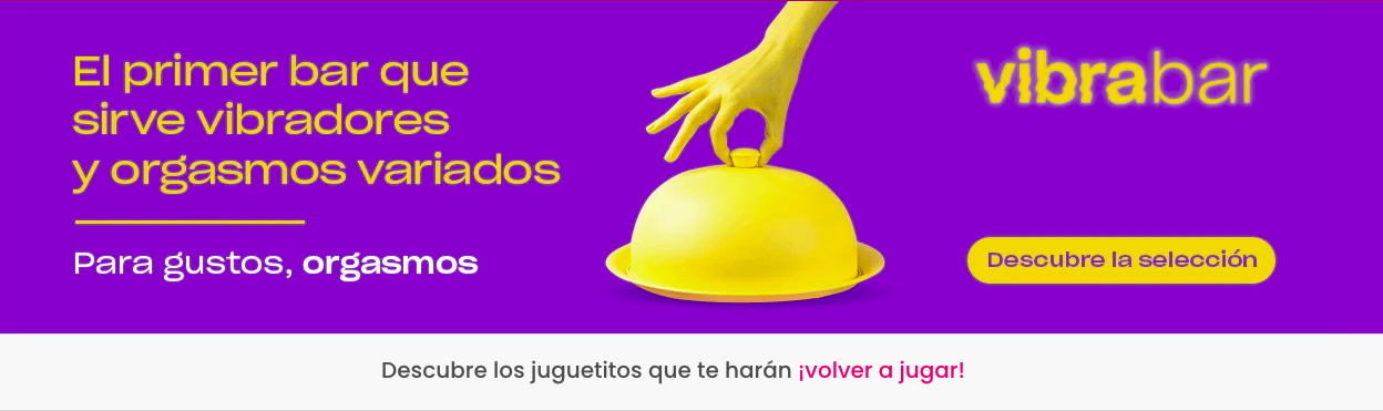 banner con copywriting y mucho placer