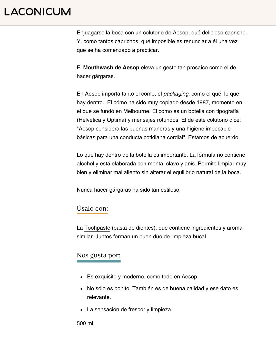 copywriting ecommerce