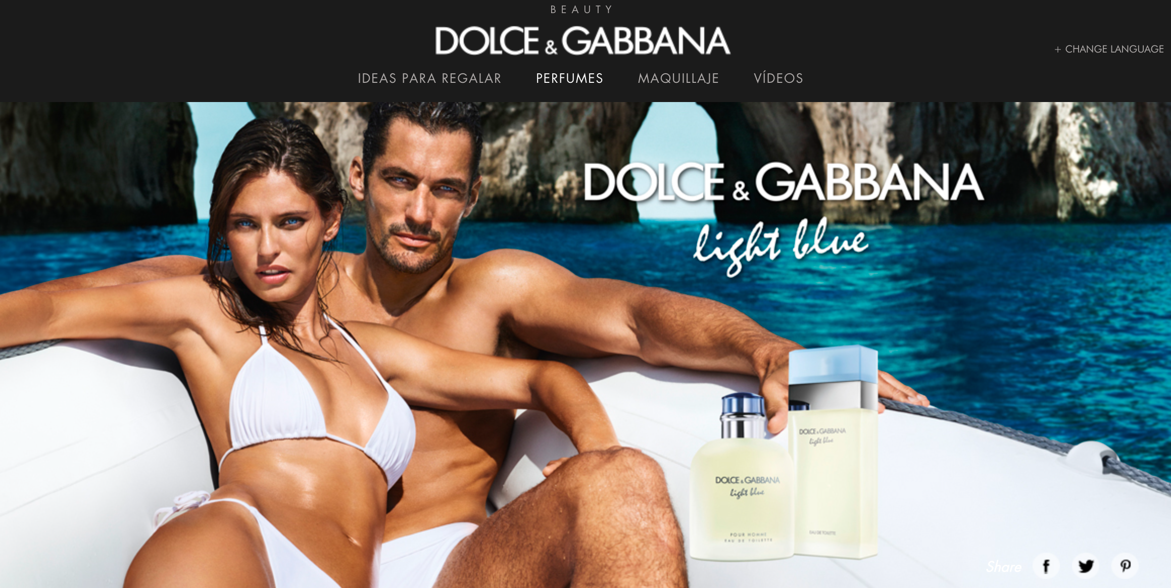 personalidad de marca crush Dolce&Gabbana