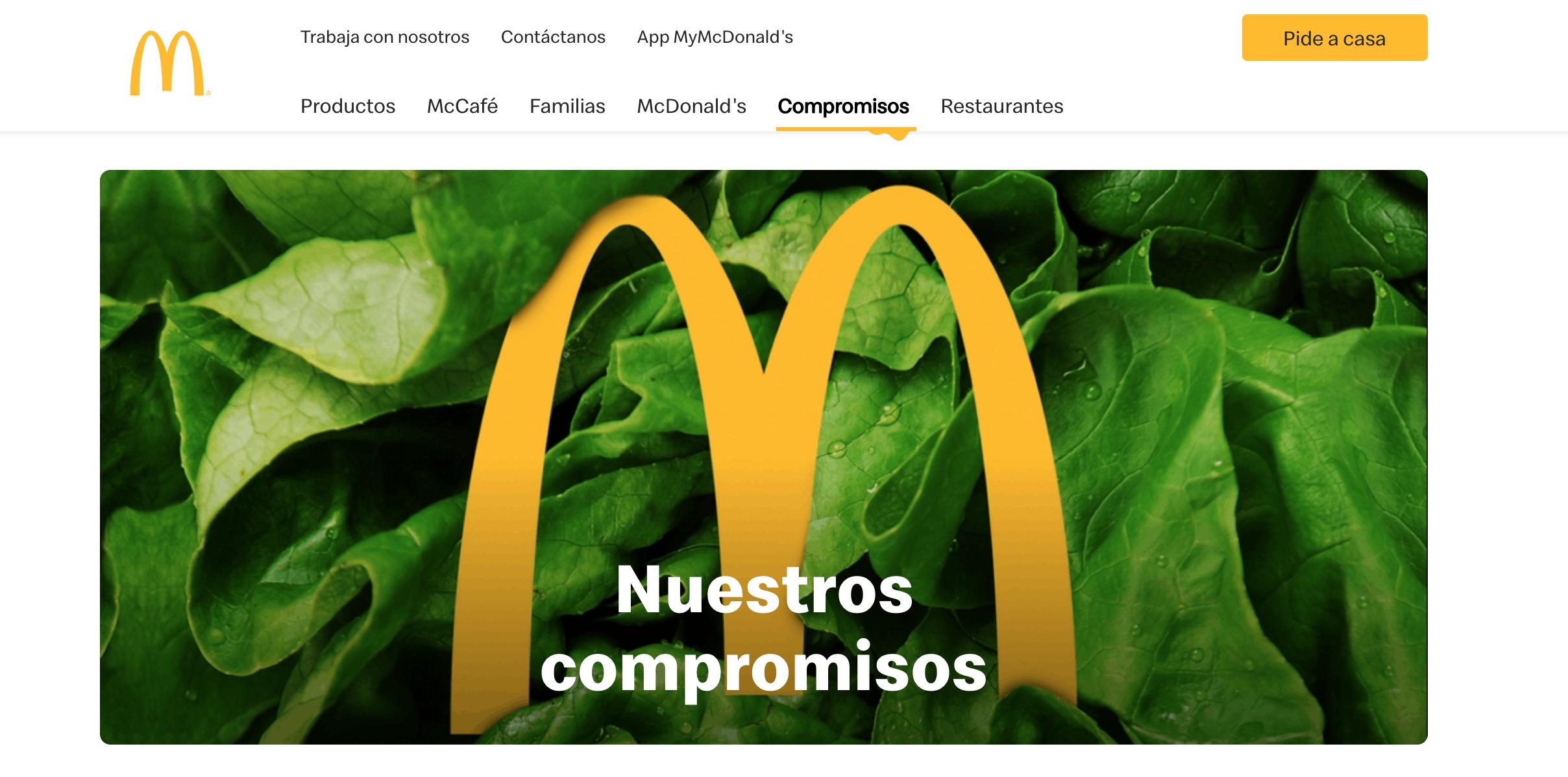personalidad de marca guardaespaldas McDonald's